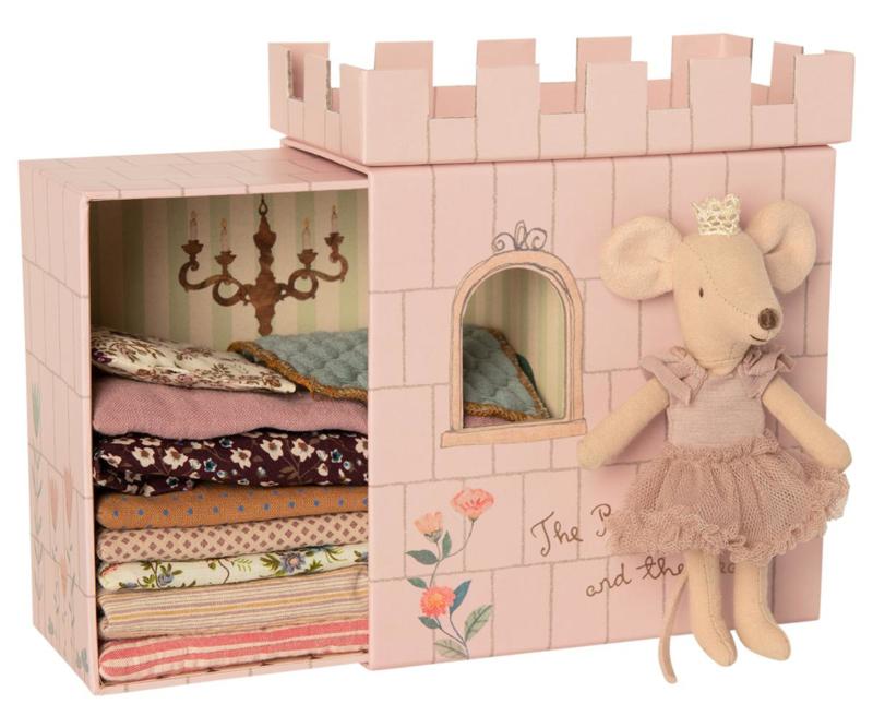 Maileg Princess and the Pea Mouse Big Sister - Prinses op de Erwt Muis