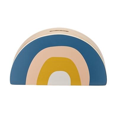 Bloomingville Spaarpot Moneybank Rainbow - Multi Color (op=op)