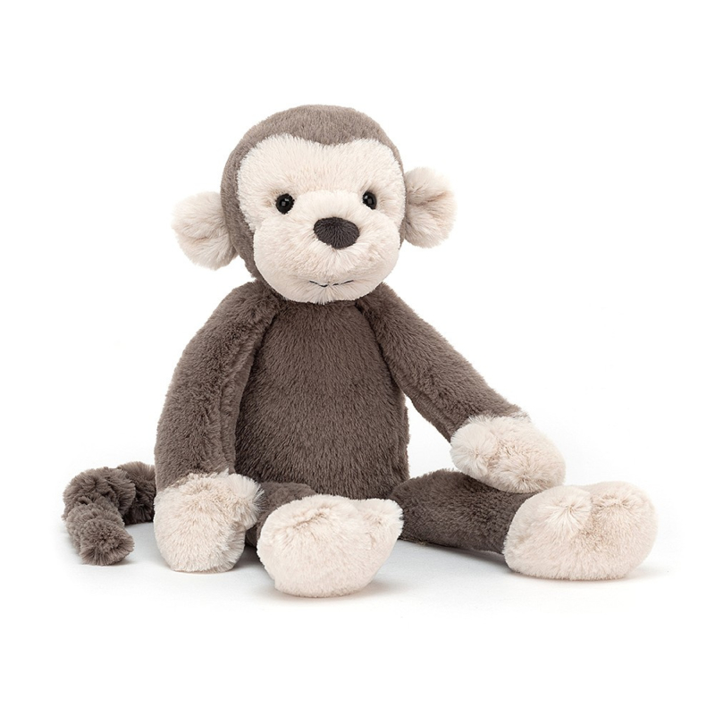Jellycat Scrumptious Brodie Monkey - Knuffel Aap (27 cm)