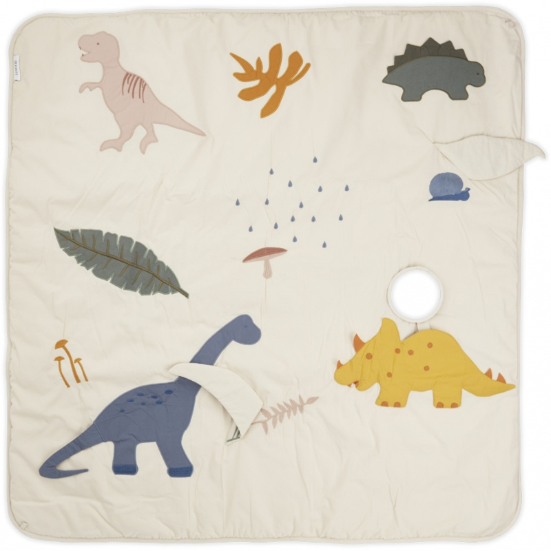 Liewood Glenn Activity Blanket Speelkleed - Dino Mix