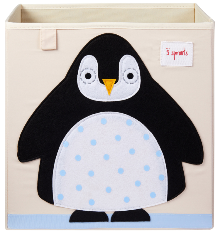 3 Sprouts Opbergdoos - Pinguin