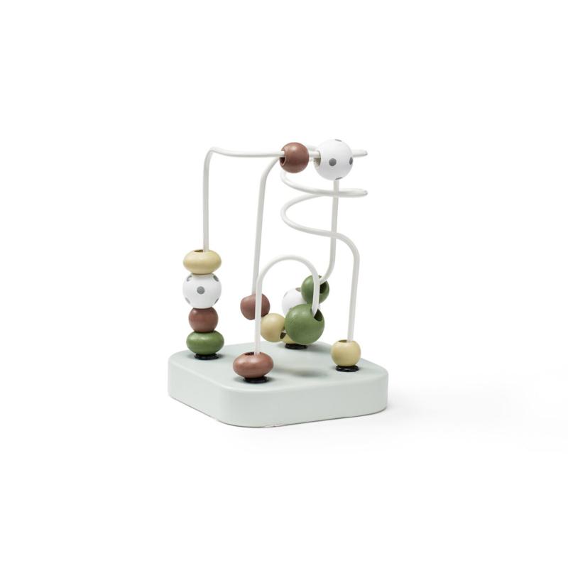 Kids Concept Spelbaan mini met Kralen Edvin - Groen