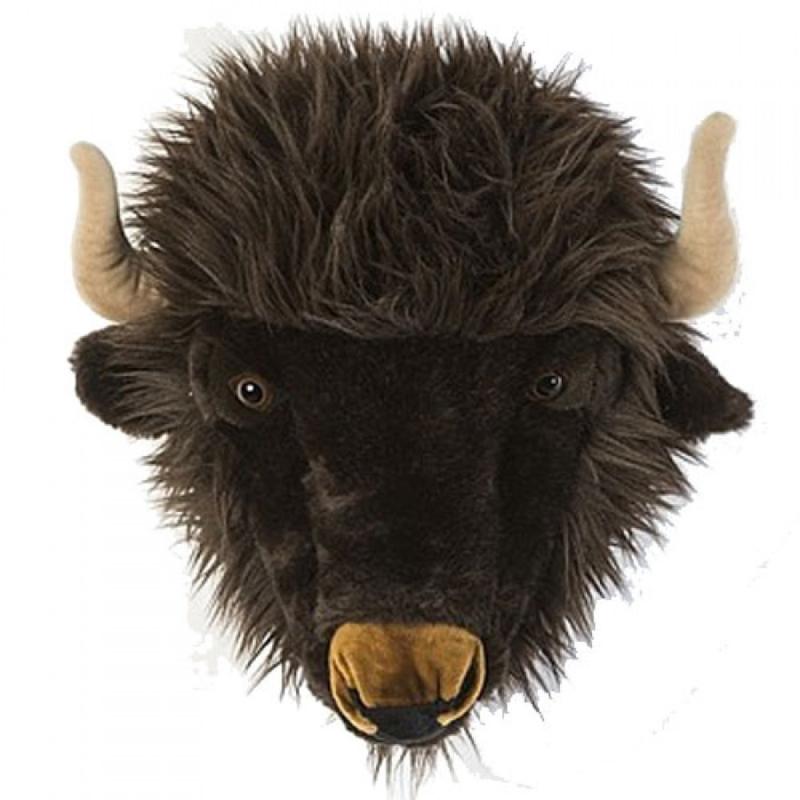 Wild and Soft Dierenkop - Buffel