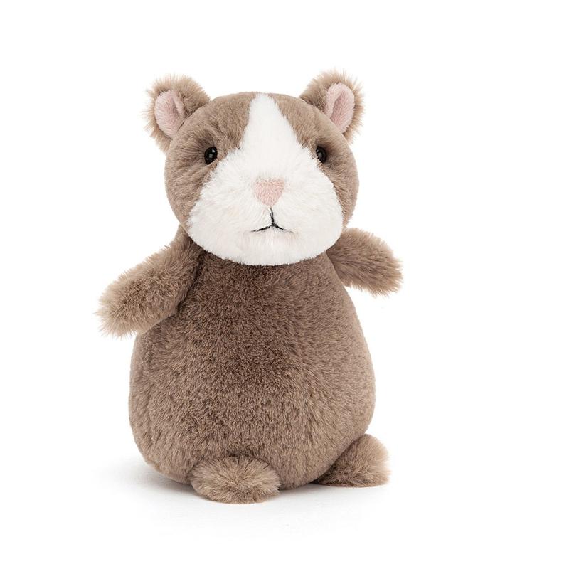 Jellycat Happy Hamster Nutmeg - Knuffel Hamster