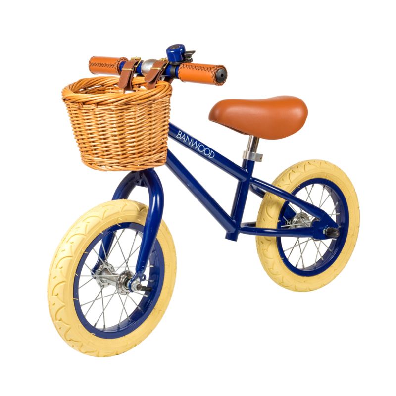 Banwood First Go Balance Loopfiets - Navy Blauw