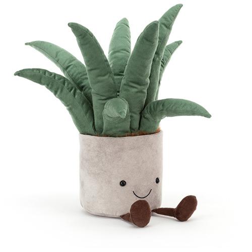 Jellycat Amuseable Aloe Vera Big - Knuffel Vetplant Aloe Vera (45 cm)