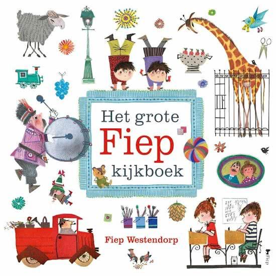 Uitgeverij Querido Het Grote Fiep Kijkboek - Fiep Westendorp (karton)