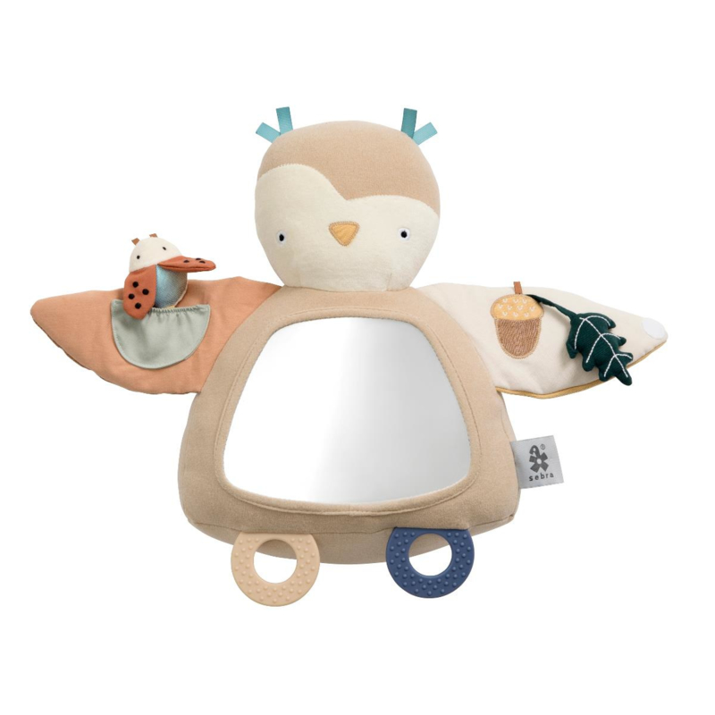 Sebra Activity Toy Uil met spiegel - Blinky the Owl