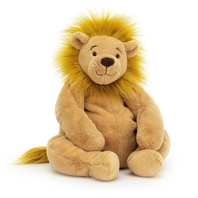 Jellycat Rumpleton Knuffel Leeuw - Lion (27 cm)