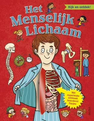 Uitgeverij Deltas Het Menselijk Lichaam; kijk en ontdek !