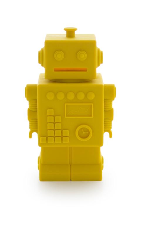 KG Design Spaarpot Robot - Geel