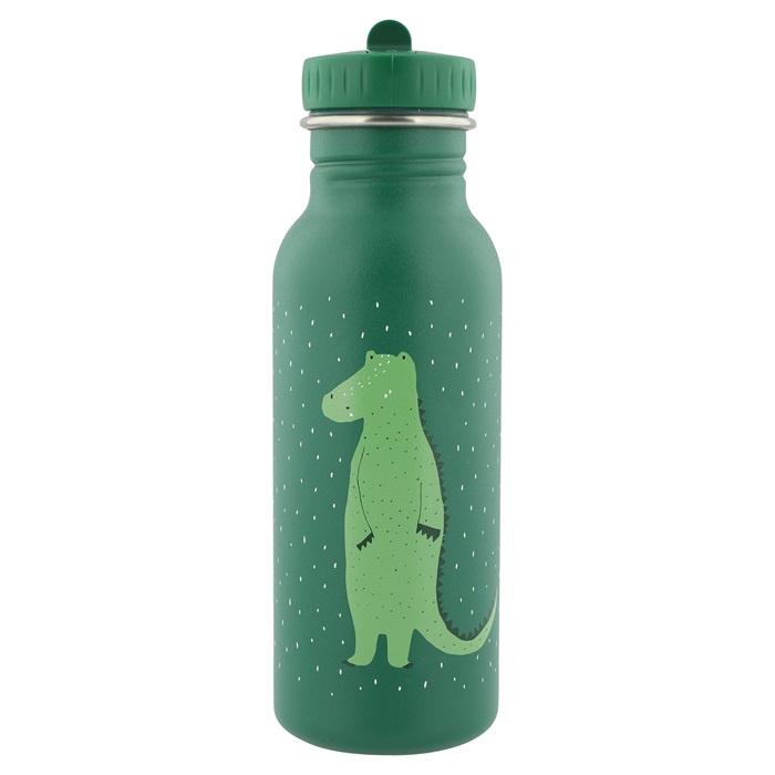Trixie Drinkfles RVS Mr. Crocodile - Groen (500 ml)