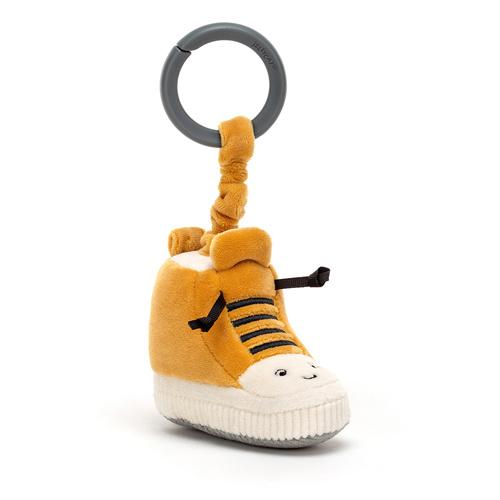 Jellycat Kicketty Sneaker Jitter - Vibrerende Babyspeeltje Sneaker