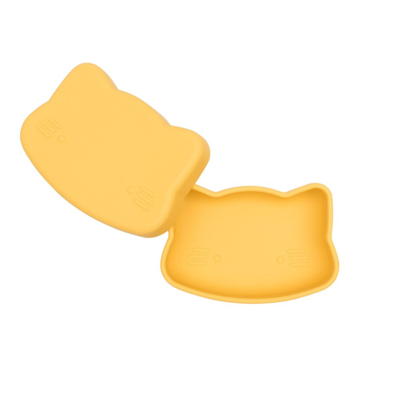 We Might Be Tiny Snackbox Kat - Geel
