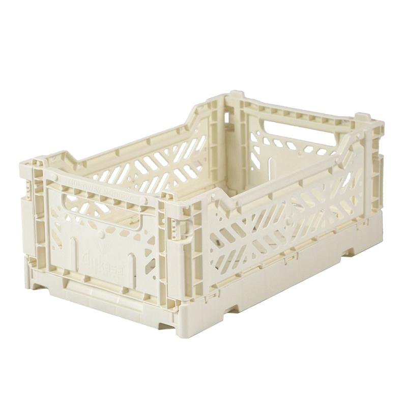 AyKasa Folding Crate Mini Box - Cream