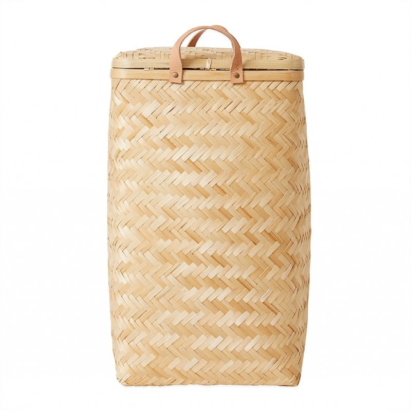 OYOY Bamboe Wasmand - Sporta Laundry Bin