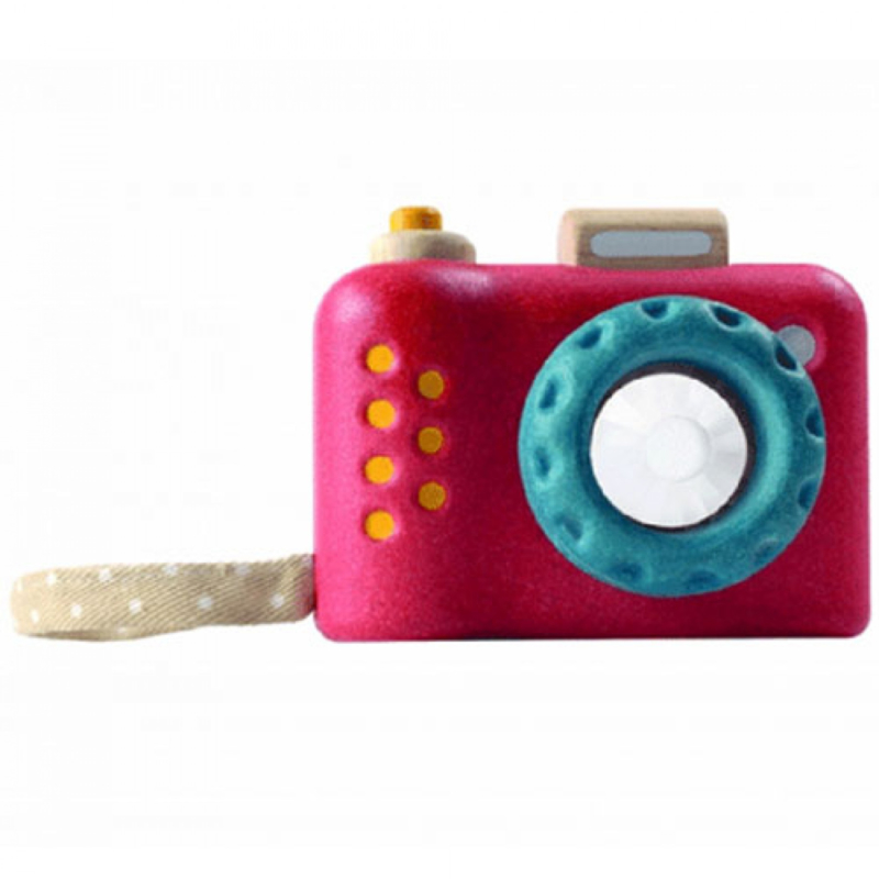 Plantoys Houten Camera - My First Camera