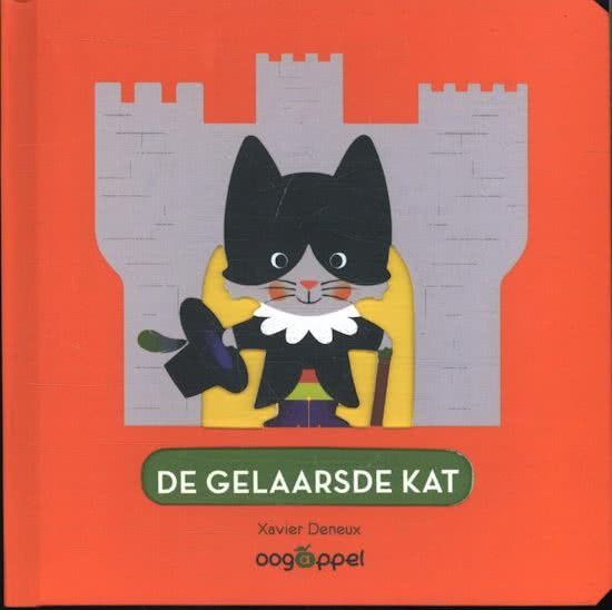 Uitgeverij Oogappel De Gelaarsde Kat - Xavier Deneux (karton)