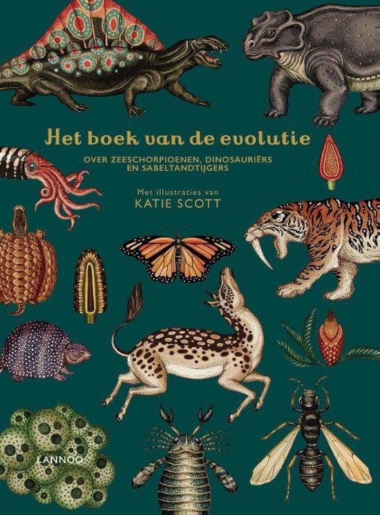Uitgeverij Lannoo Het Boek van de Evolutie - Katie Scott & Ruth Symons