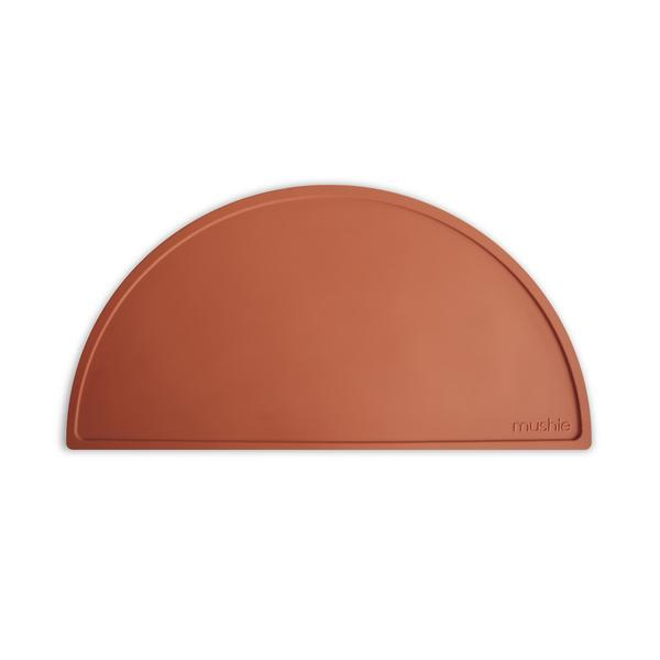 Mushie Placemat Silicone Place Mat - Clay