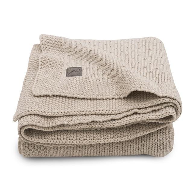 Jollein Deken Bliss Knit - Nougat (75 x 100 cm)