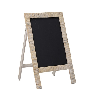 Bloomingville Krijtbord Rotan Blackboard Rattan - Nature