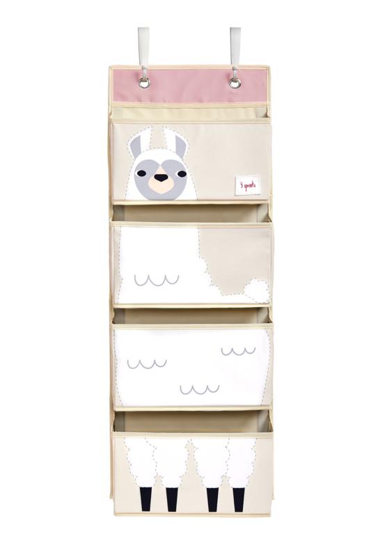 3 Sprouts Wand Organizer - Lama