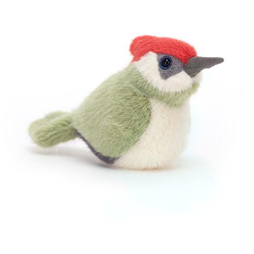 Jellycat Birdling Woodpecker - Knuffel Specht (10 cm)
