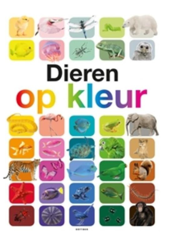 Uitgeverij Gottmer Dieren op Kleur - A. Ganeri