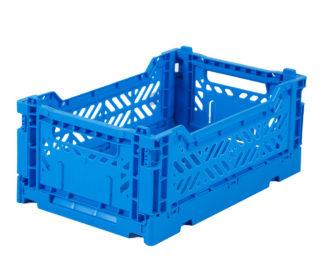 AyKasa Folding Crate Mini Box - Blue