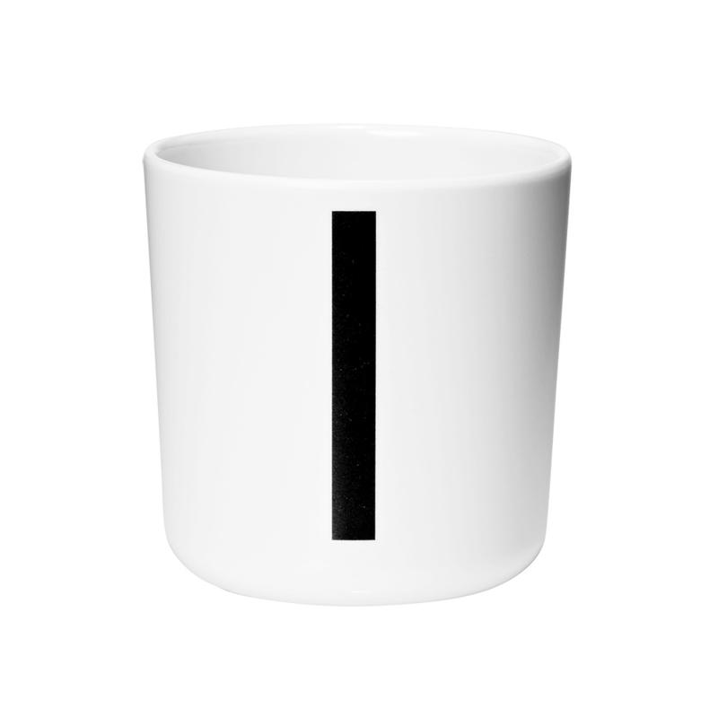 Design Letters Melamine Drinkbeker - Letter I