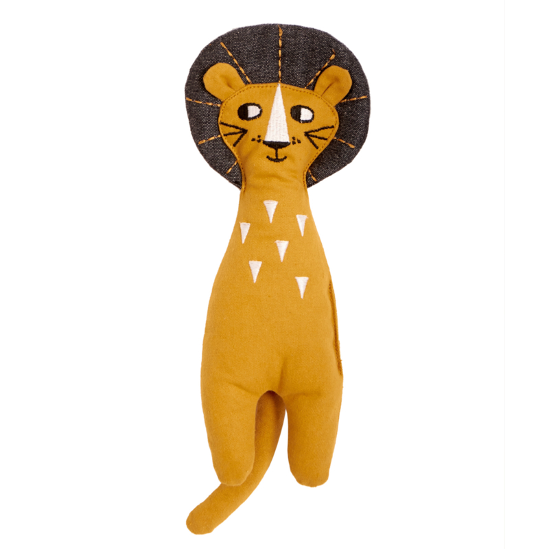 Roommate Knuffel Rag Doll Lion - Leeuw