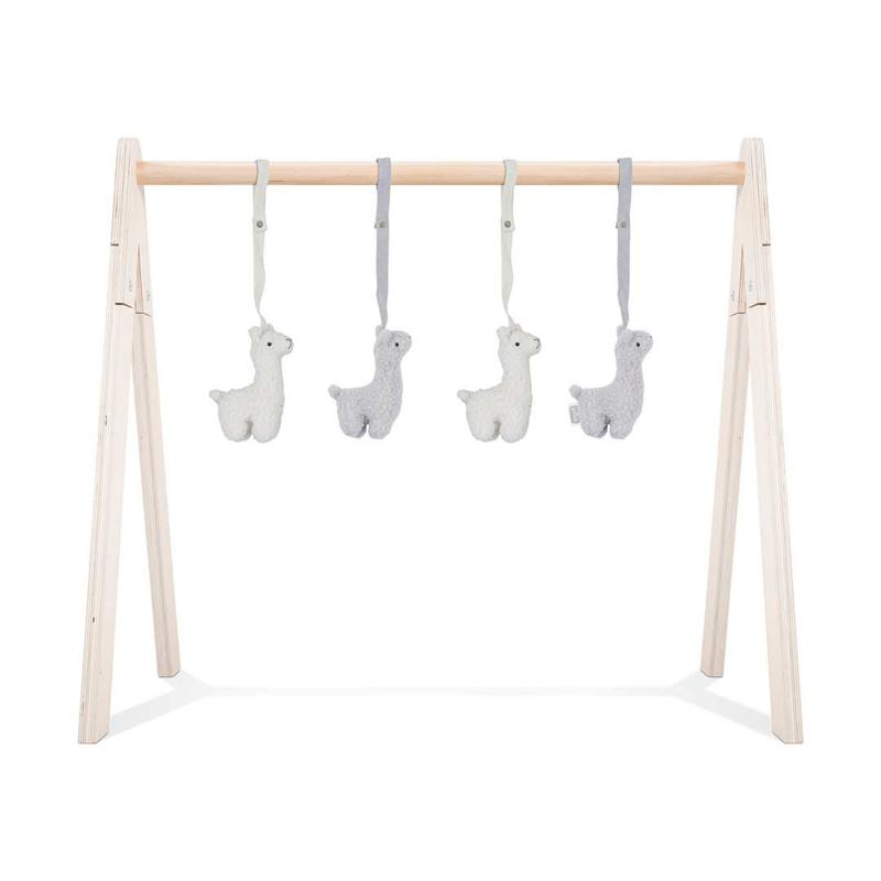 Jollein Babygym Speeltjes Lama - Grey/Off White (set van 4)