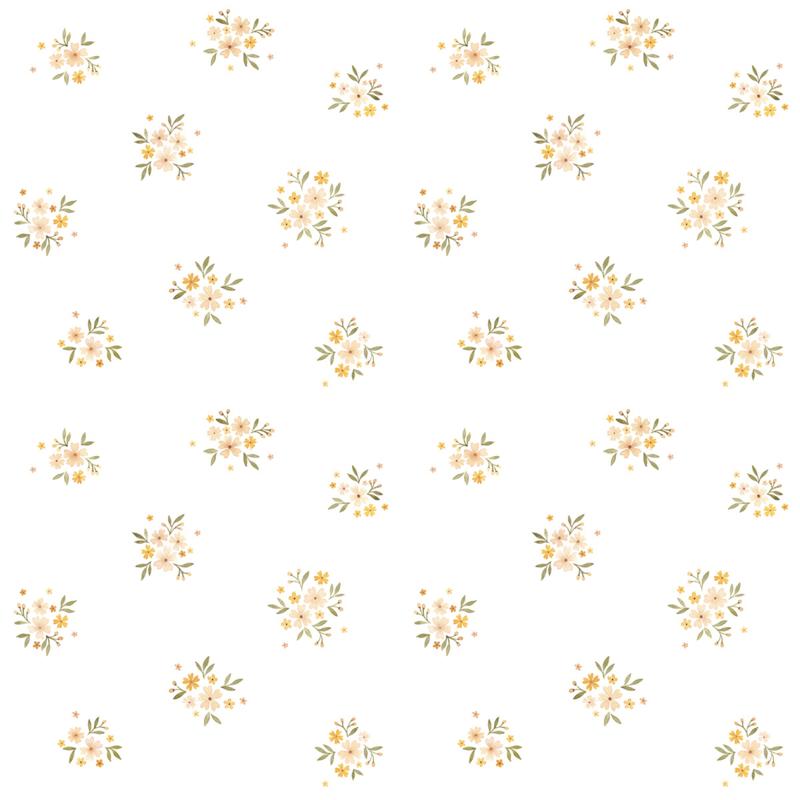Vogeltjes Behang Lief.Lilipinso Oh Deer Behang Retro Floral Oh Deer Gras