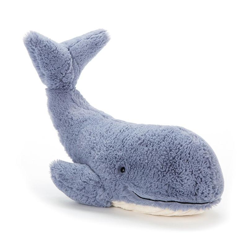 Jellycat Knuffel Walvis Small - Wilbur Whale (37 cm)