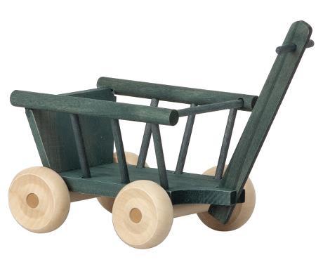 Maileg Wagon Micro Bolderkar Poppenhuis - Petrol
