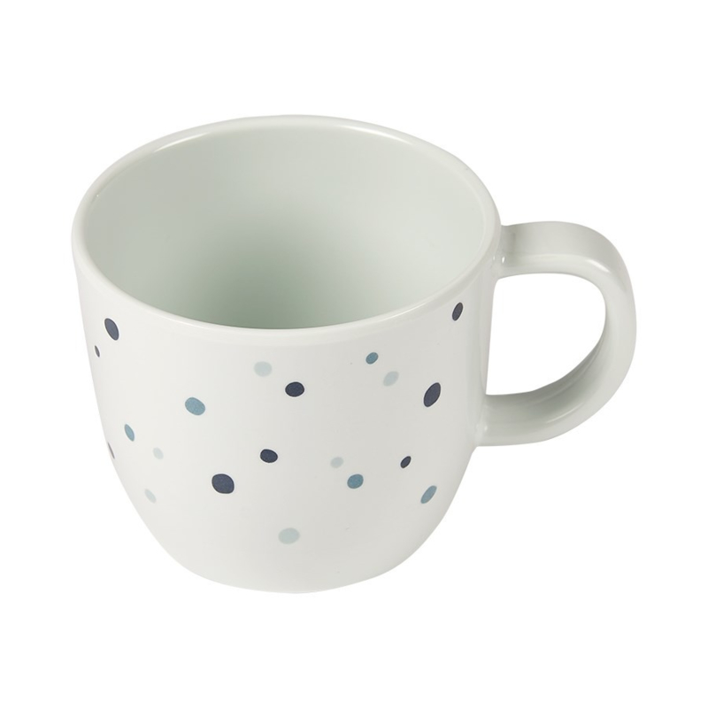 Done by Deer Drinkbeker met oor Dreamy Dots - Blauw