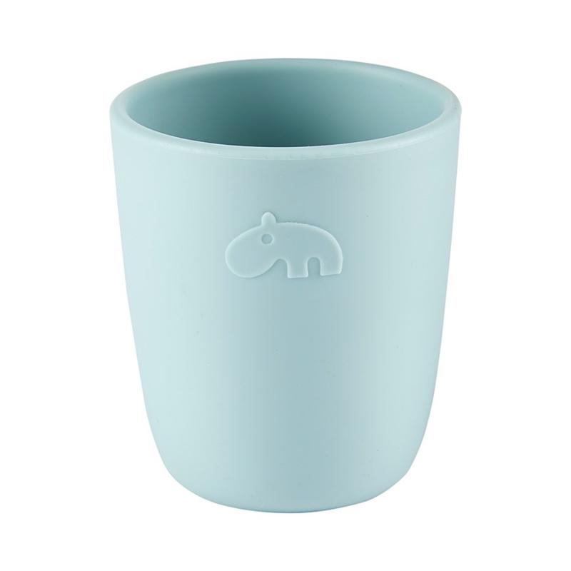 Done by Deer Siliconen Mini Mug Drinkbeker - Blauw