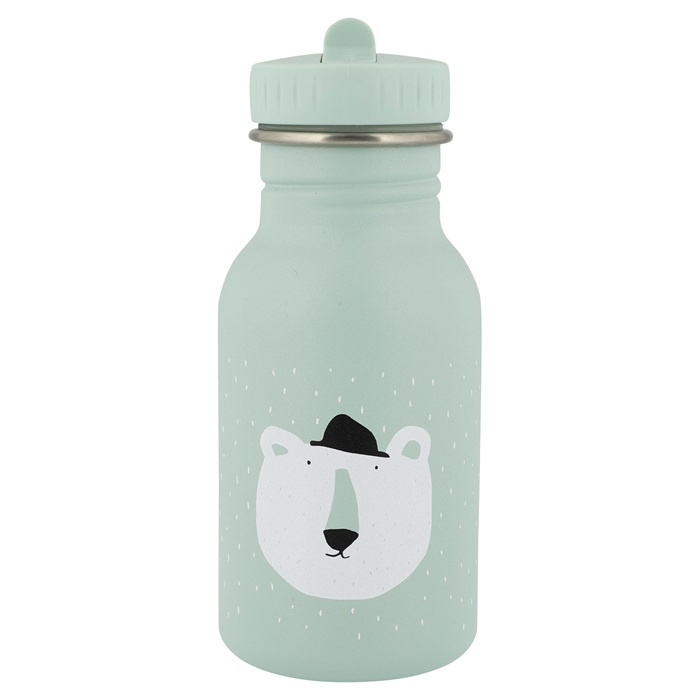 Trixie Drinkfles RVS Mr. Polar Bear - Mint Groen (350 ml)