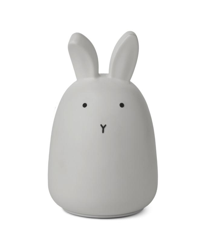 Liewood Winston Night Light Nachtlampje - Rabbit Dumbo Grey