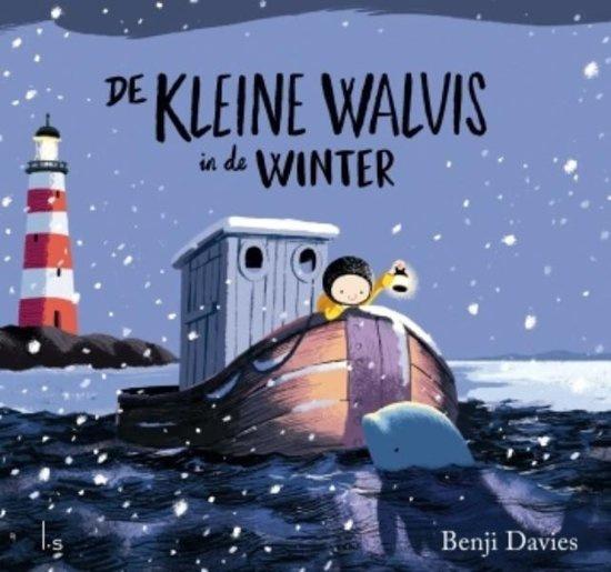 Uitgeverij L.S. Amsterdam De Kleine Walvis in de Winter - Benji Davies