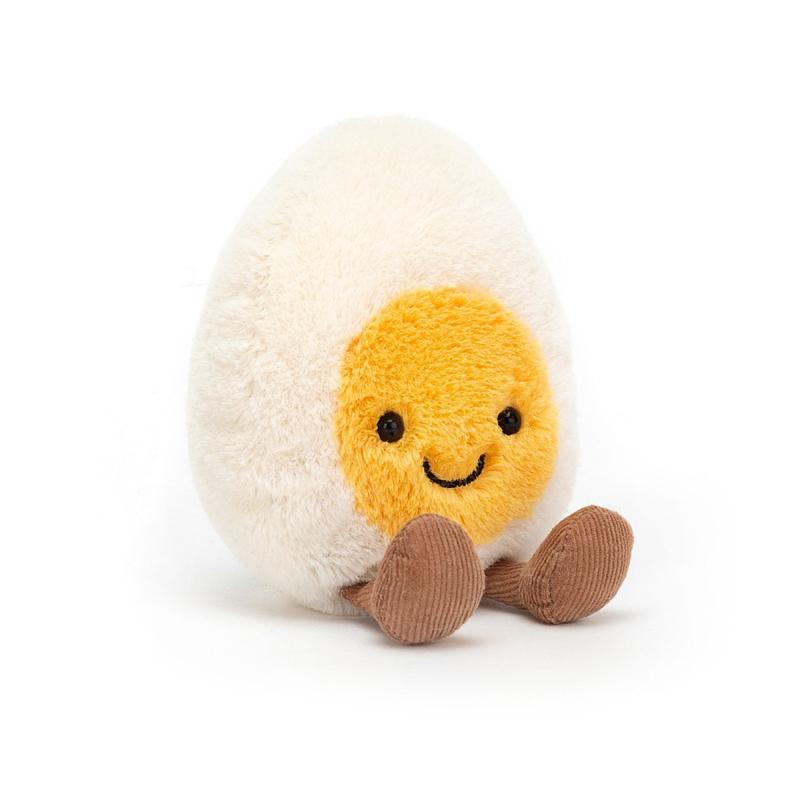 Jellycat Amuseable Boiled Egg Small - Knuffel Gekookt Eitje (14 cm)