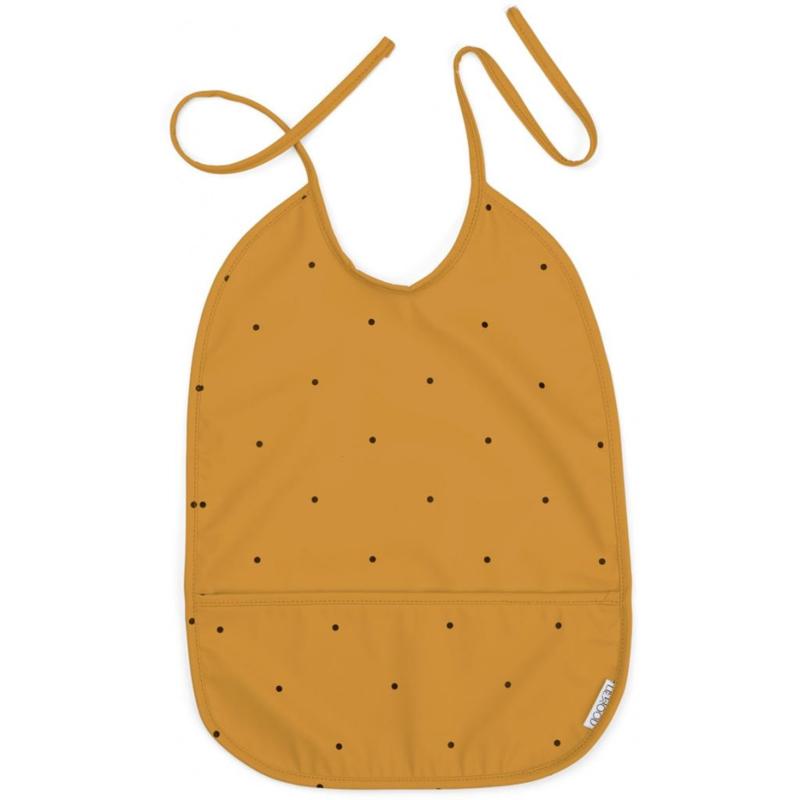 Liewood Lai Slabbetje - Classic Dot Mustard