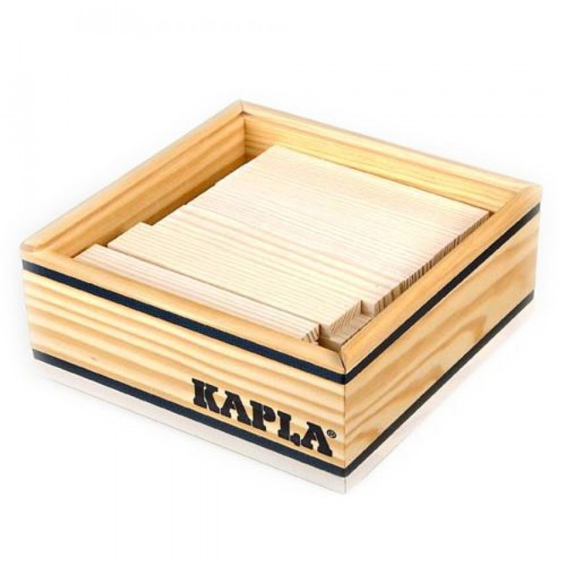 KAPLA Kist 40 Bouwplankjes - Wit