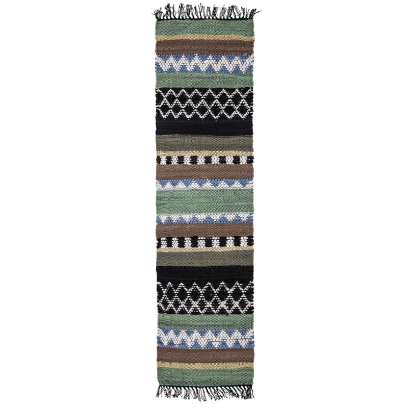 Bloomingville Vloerkleed Huxi Katoen - Multi color