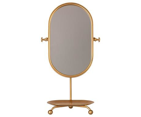 Maileg Table Mirror - Gold