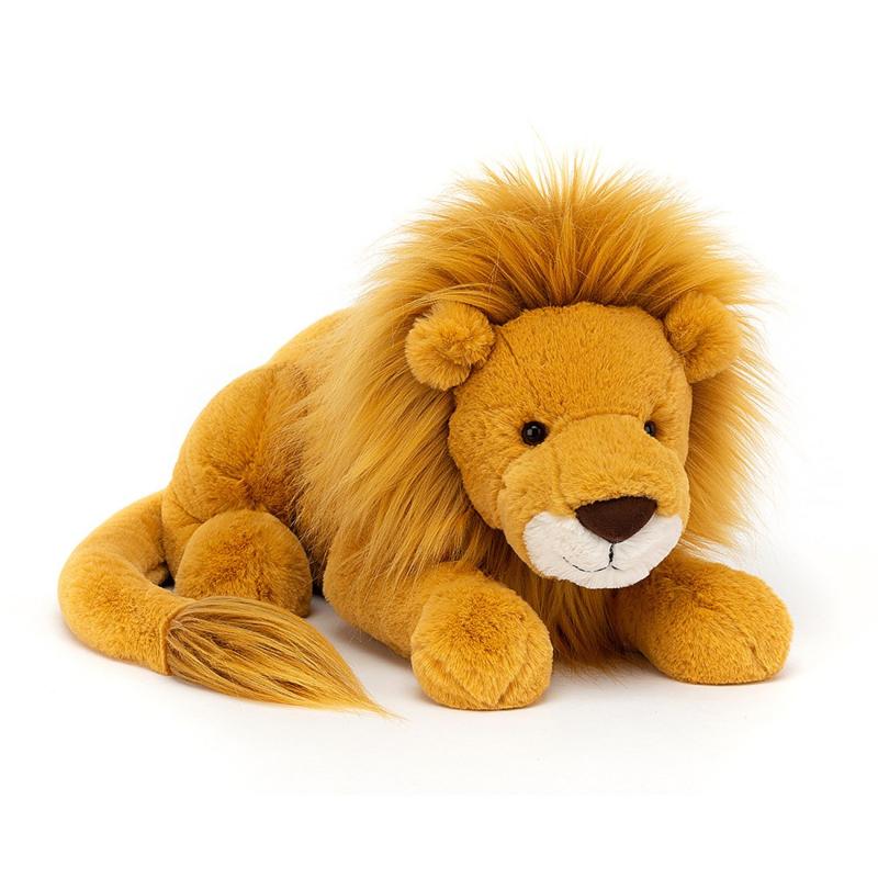 Jellycat Big Cats Louie Lion - Knuffel Leeuw Large (54 cm)