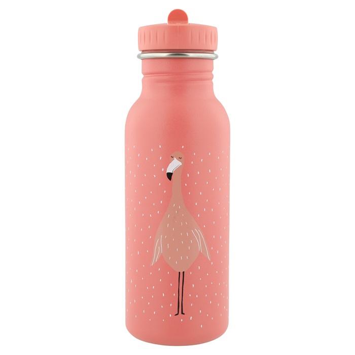 Trixie Drinkfles RVS Mrs. Flamingo - Roze (500 ml)