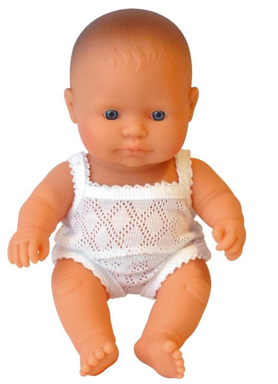 Miniland Babypop Europees - Boy (21 cm)