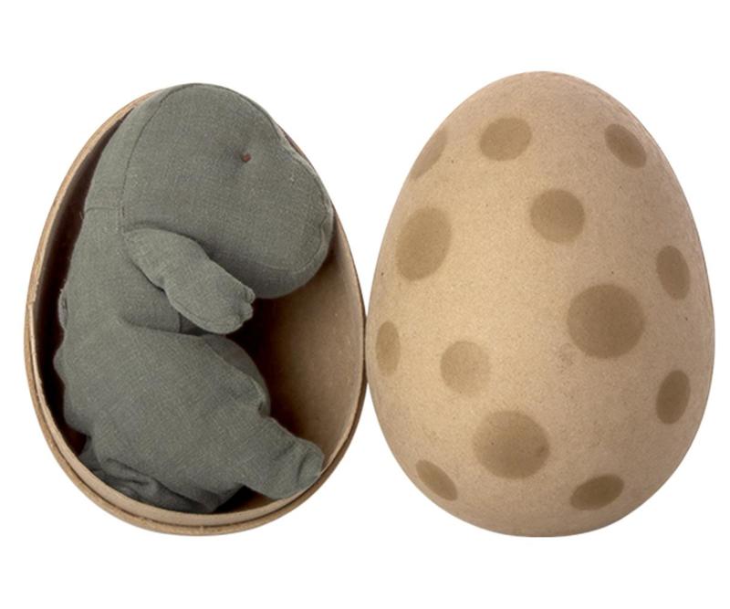 Maileg Gantosaurus in Egg Small - Green